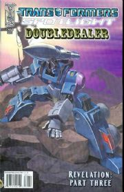 Transformers Spotlight Doubledealer Cover A (2008) IDW Publishing comic book